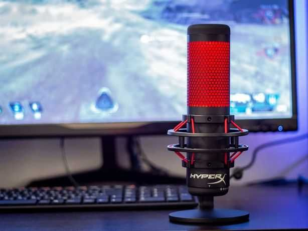 Микрофон HyperX QuadCast (В идеальном состоянии)