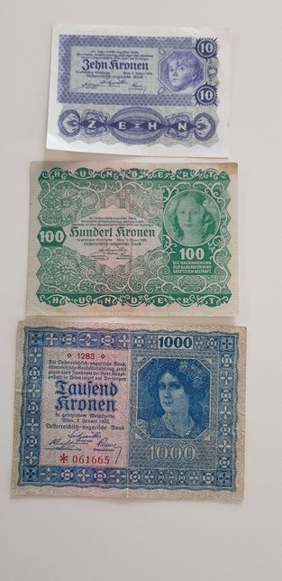Lot bancnote austria