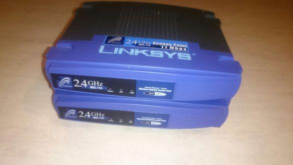 Linksys Access Point 11Mbps Цена: 2 бр 100 лв