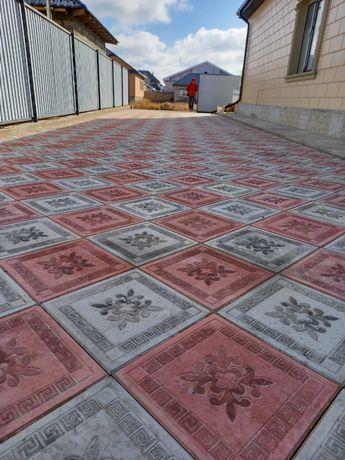 Тротуарные плитки более 26 видов в Атырау
