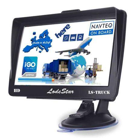 "GPS 7""HD, program+harti iGO TRUCK special pentru: Camion/TIR/Camioane"