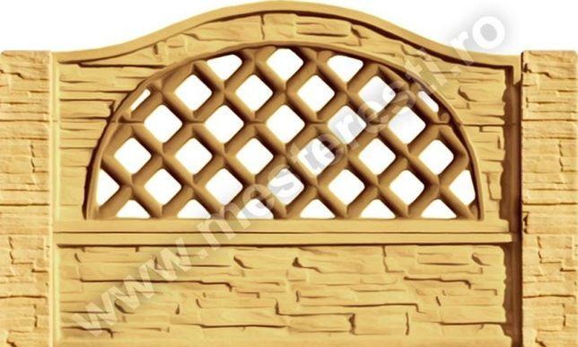 Gard de Beton Normand 2 - Transport Gratuit - Garduri din Beton