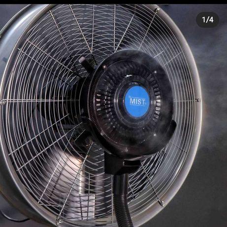 Вентилятор с распылителем воды для кафе летников с доставкой