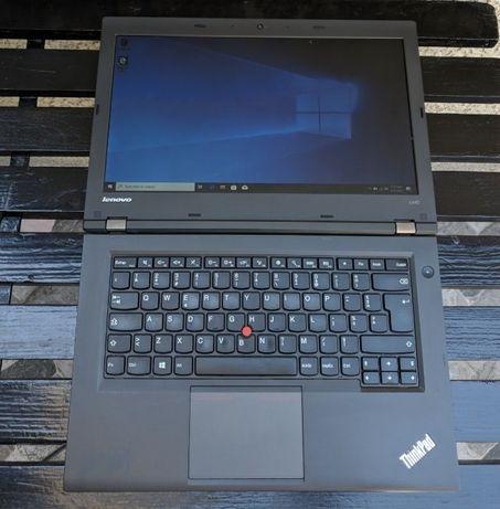 """ThinkPad T440, i5-4300, 14"""", 4GB RAM, SSD 256 GB, Laptop cu Garantie!"""