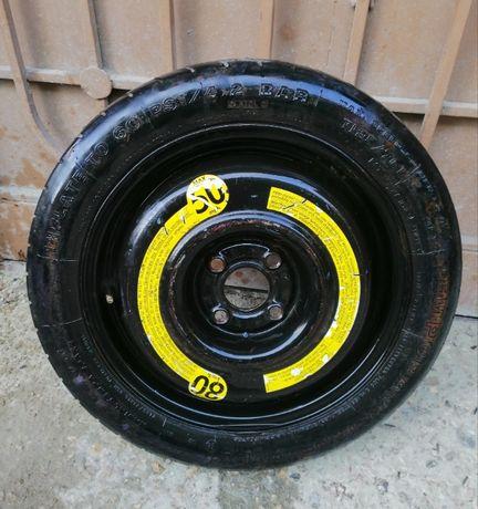 Резервна гума патерица 14цола за Голф3, поло.
