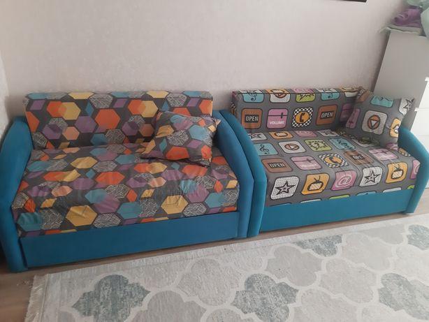 Детские диваны-кроватки мягкие