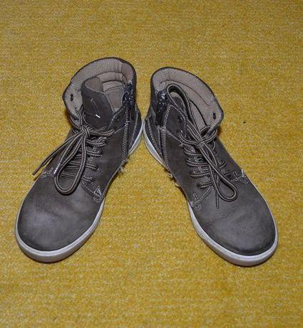 Pantofi copii, piele maro deschis, marimea 30