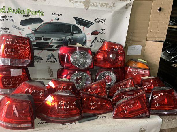 tripla lampa stop vw golf 7 golf 6 jetta golf 5 plus golf3