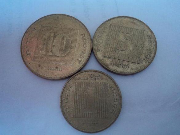 Стари монети от Израел