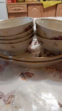 Посуда производство СССР, тарелки, чайники