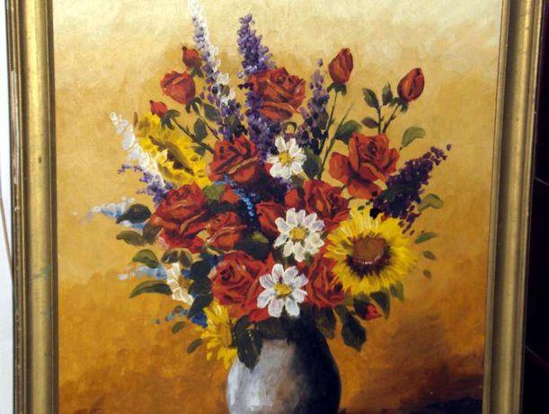 Tablou -Vaza cu flori-Toader