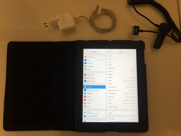 Vand Apple Ipad 2 Sim Gsm 16 GB A1396