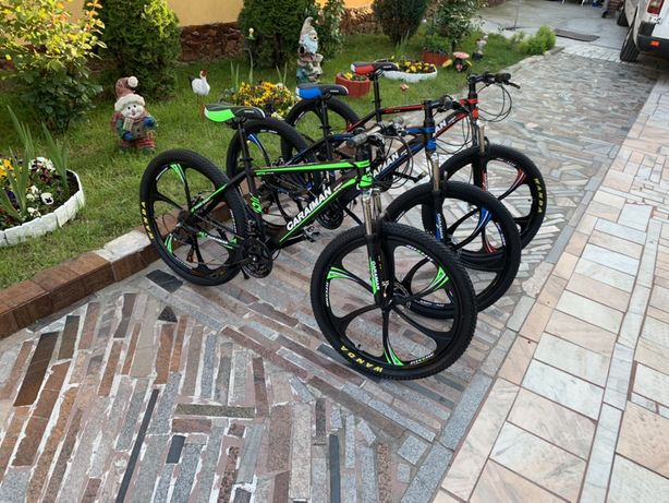 Vand Biciclete Noi Caraiamn Roti pe 26 Full-shimano frane pe disc
