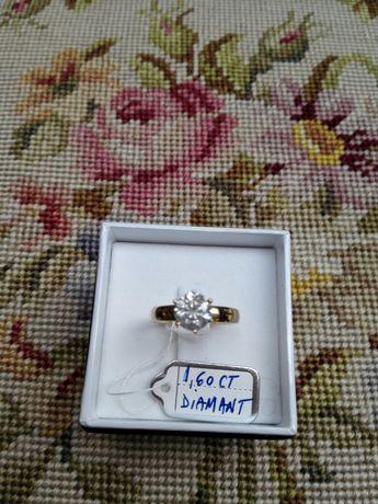 Vand inel aur cu diamant 1,6 Ct