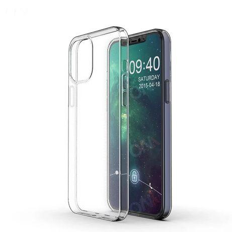 Iphone 12 Mini / Pro / MAX Husa Slim Din Silicon Neagra / Transparenta
