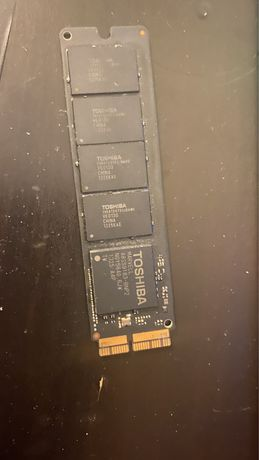 SSD Macbook air NVme 256 GB Toshiba apple mac os BigSur instalat