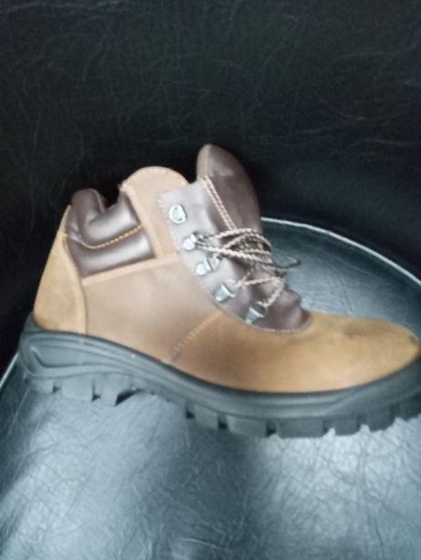 Спецобувь,ботинки со стальным носком,нат кожа,Россия