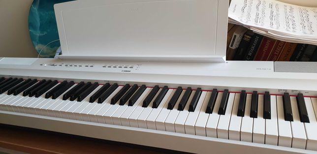 Цифровое пианино YAMAHA p125 белое
