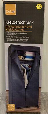 НОВО!!! Текстилен гардероб с отделение за дрехи - Внос Германия