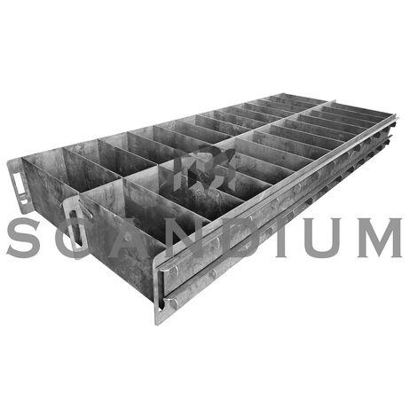 Форма для газоблоков, пеноблоков (металлоформа)