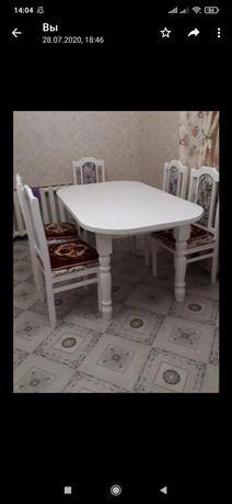Продам стол со стульями 65000