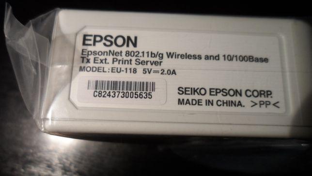 EpsonNet 802.11b / g Wireless și 10/100 Base-TX Server de imprimare ex