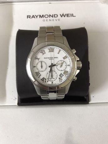 Мъжки часовник Raymond Weil Parsifal White Dial Stainless Steel
