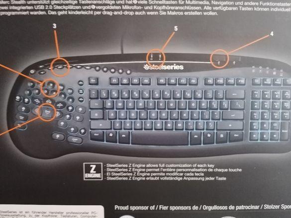 Геймърска клавиатура SteelSeries Merc Stealth
