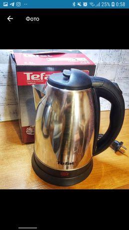 Электрический чайник Tefal 2.2 л 2000w.новый