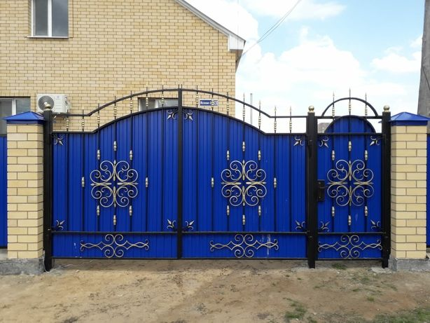 Забор,ворота навесы.сварочные работы.