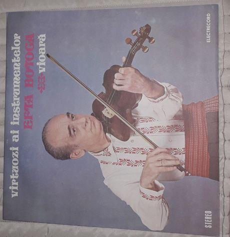 efta botoca vioara virtuozi ai instrumentelor disc vinil