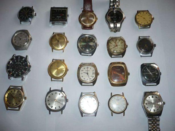 Colectie de ceasuri mecanice foarte vechi,de mana