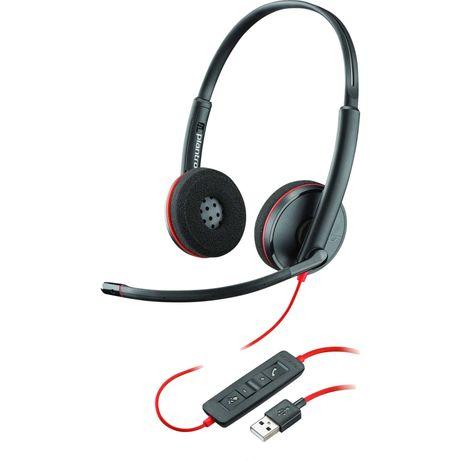 Casca Call Center Plantronics Blackwire C3220, USB-A, Binaural, Noua