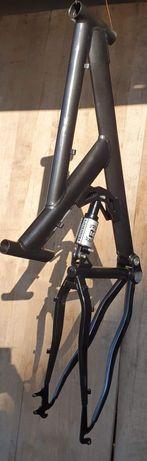 Cadru bicicleta 46cm.,Full suspension, MTB
