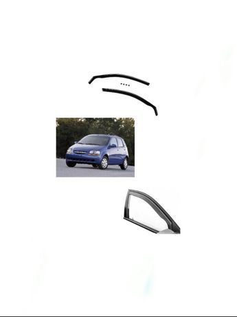 Ветробрани Chevrolet KALOS (2002)- 4/5 врати-  (2бр.)