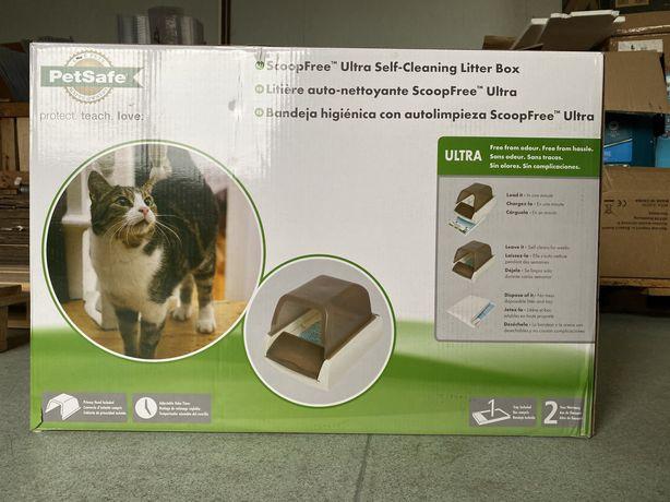 Toaletă automată pentru pisici ScoopFree Ultra