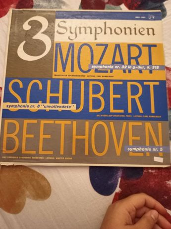 Viniluri Ludwig van Beethoven Mozart Schubert