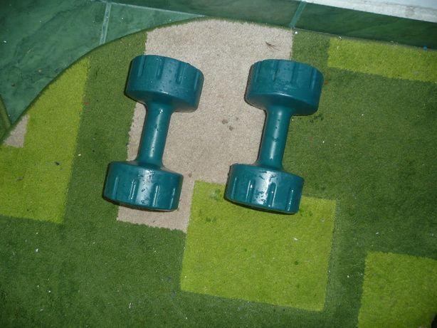 Gantere fitness 3kg&discuri haltere 2.5kg&5kg