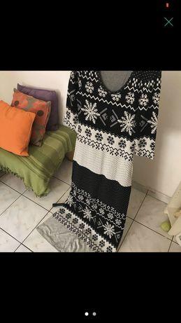 Rochie Vero Moda Winter Pattern
