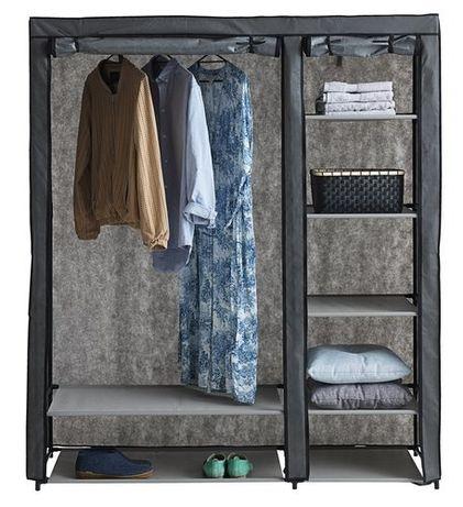 Текстилен гардероб-149х174х50 см.