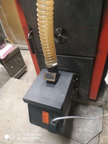 Модулираща горелка за пелети с контролер за управление EMC 1 Waterland
