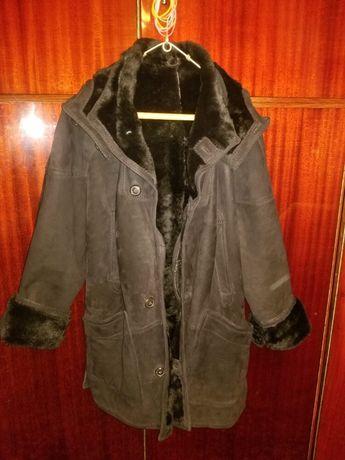 Haina palton de blana naturala