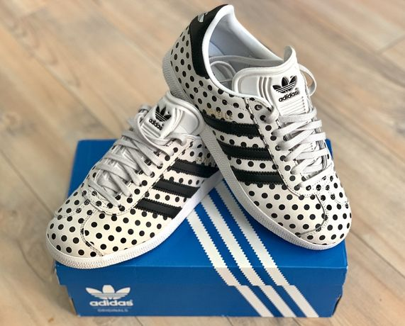 Adidas Gazelle Polka Dots Special Edition piele, noi, marimea 36