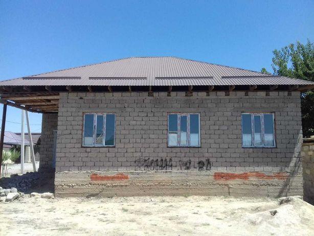 Продам дом недостроенный в мкр.Курсай
