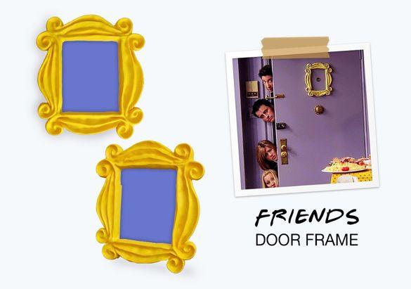 """Рамка от сериала """"Приятели"""" / Door Frame """"Friends"""""""