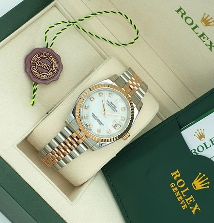 Rolex Datejust Two Tone MOP Dial Ladies 36MM
