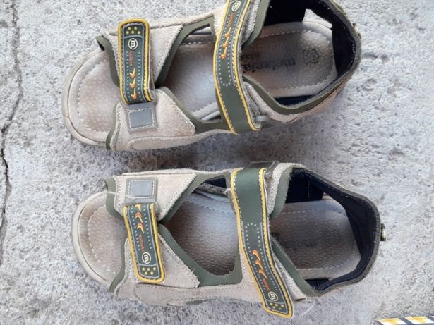 Sandale piele băiețel