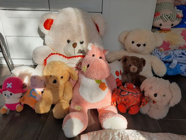 Мягкие игрушки цена за все 4000