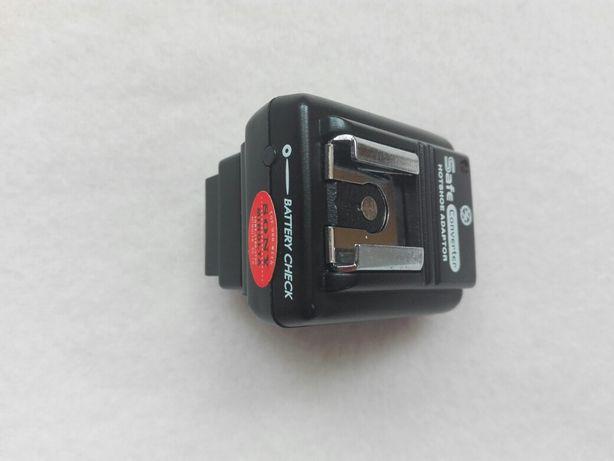 Adaptor bliț Sony Nex la Canon Nikon