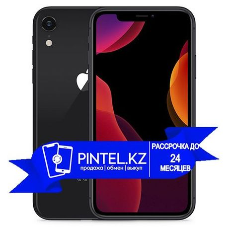 Б/у Apple Iphone XR. Айфон ИксР. 256гб. Чёрный. 79%